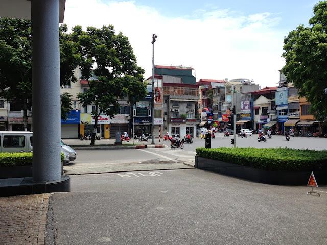 hanoi-nikkohotel-suiyoudoudeshou-entrance 水曜どうでしょうベトナムスタート地点