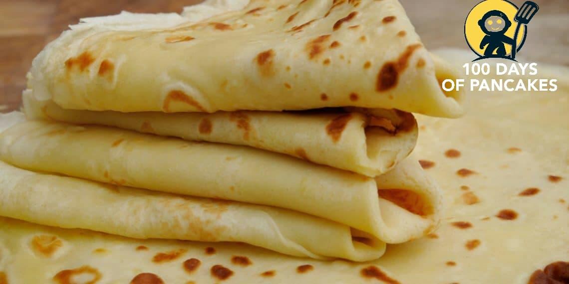 Light banana pancakes.  Simple and inexpensive