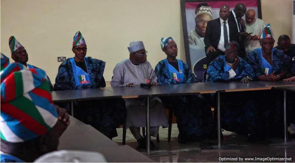 Photos: Buhari & Osinbajo's Wives Join APC Party Leaders ...