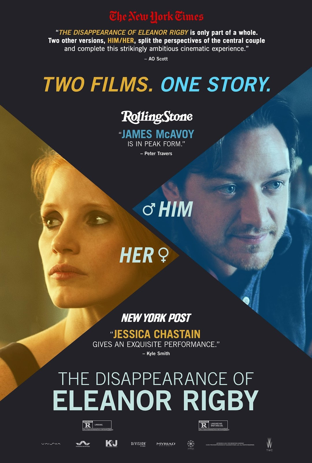 Nonton Film The Disappearance of Eleanor Rigby: Him (2013)