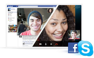 facebook video call on skype