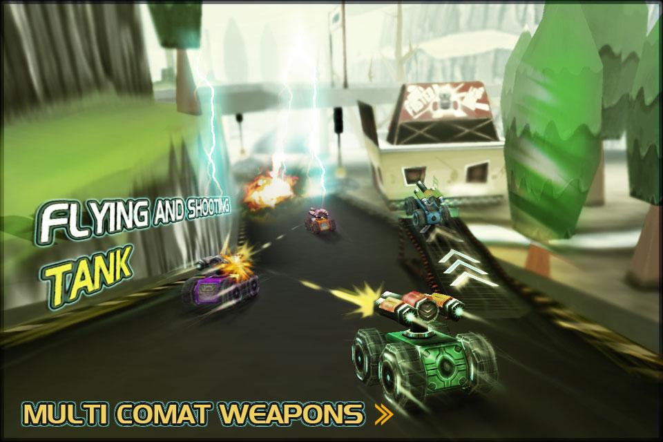Racing Tank 2 MOD APK Terbaru