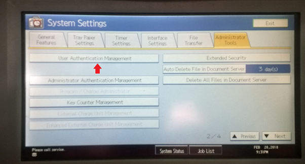 tao user code tren may photocopy
