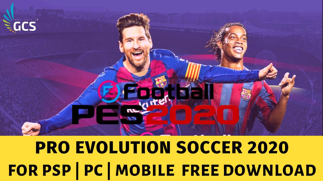 PES 2010 mod PES 2020 for PSP PC Mobile - www.infogatevn.com