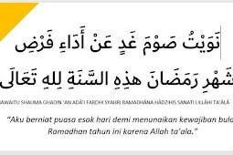4 Hal yang Perlu Diperhatikan Saat Niat Puasa Ramadhan