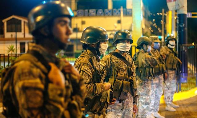 Ejército reforzará patrullaje durante estado de emergencia