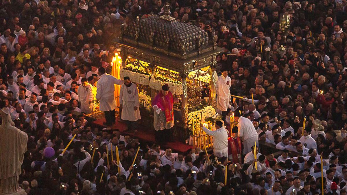 Annullata la festa di Sant'Agata a Catania