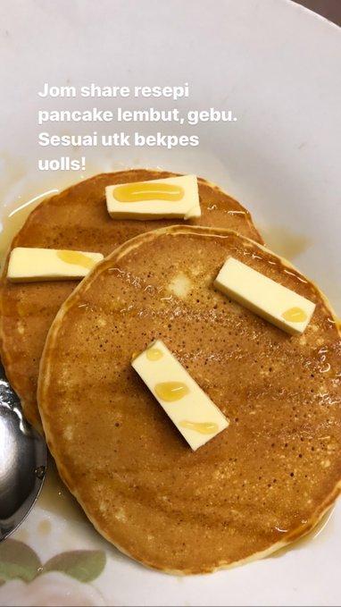 resepi pancake mudah simple
