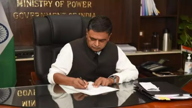 raj-kumar-singh-takes-charge-as-cabinet-minister-of-power-new-renewable-energy-daily-current-affairs-dose