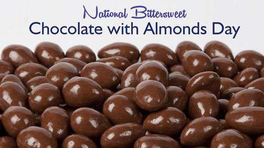 National Bittersweet Chocolate with Almonds Day Wishes Pics