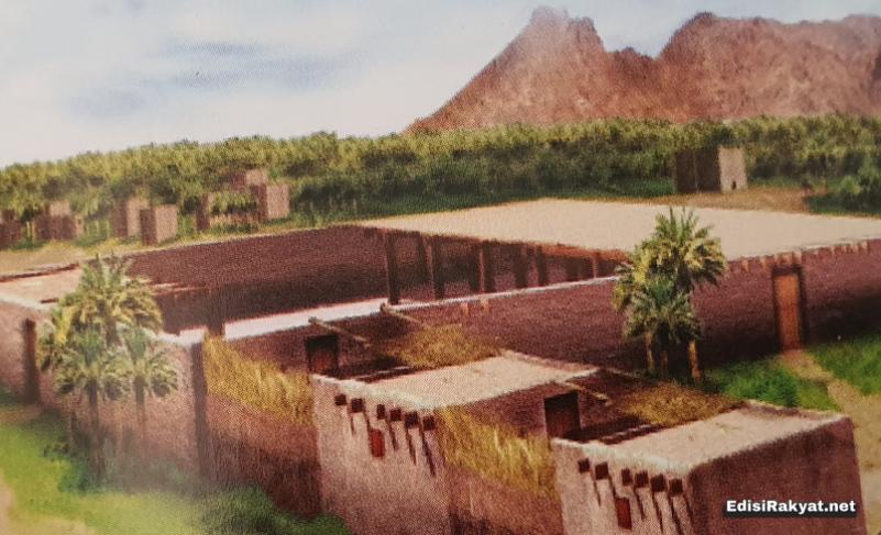 Ilustrasi Masjid Nabawi