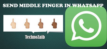 Recently you can send the middle finger emoji in WhatsApp.