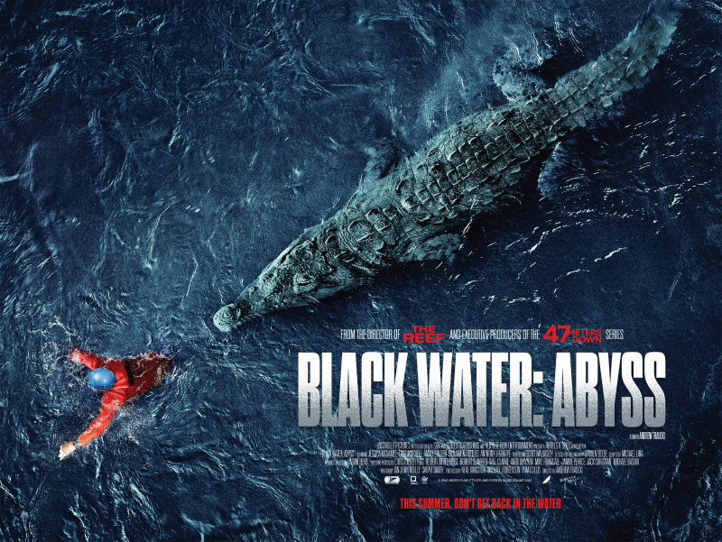 black water abyss poster