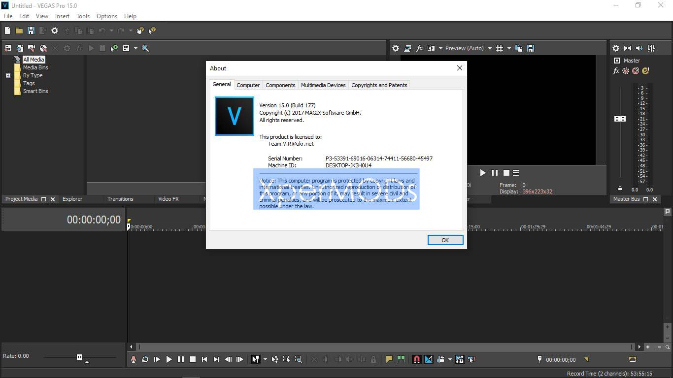 Sony Vegas Pro 15 Full Setup + Patch Free download   Xpermods