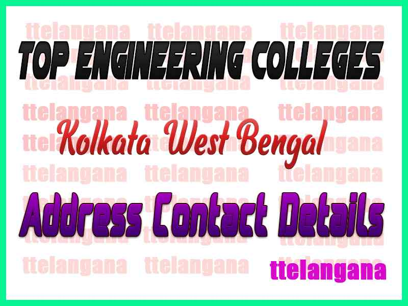 Top Engineering Colleges in Kolkata West Bengal