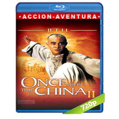 Erase Una Vez En China 2 (1992) BRRip 720p Audio Trial Latino-Castellano-Chino 5.1