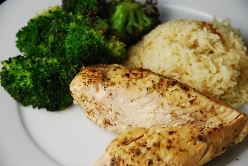 Weight Watchers Lemon Garlic Slow Cooker Chicken