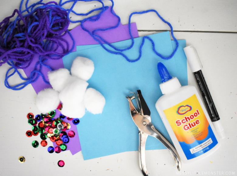 mitten craft supplies