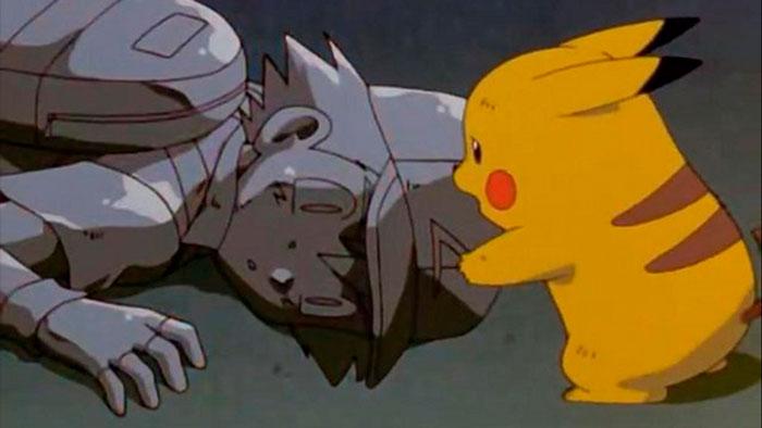 Ash convertido en piedra