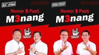 PDIP Kuasai Pilkada 2020 di Sulawesi Utara