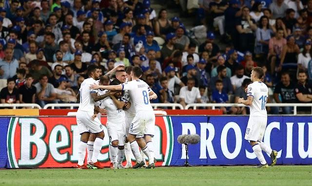 Δεν άφησε περιθώρια η Σκουάτρα Ατζούρα,Ελλάδα-Ιταλία 0-3