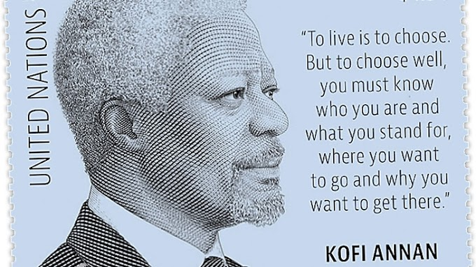 UNPA issues new stamp to pay tribute to Kofi Annan