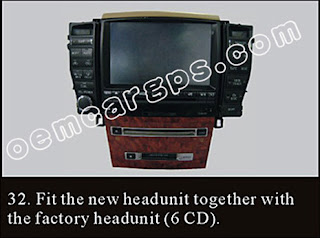 How to Replace a new Car Stereo in a Toyota Crown ~ Oem