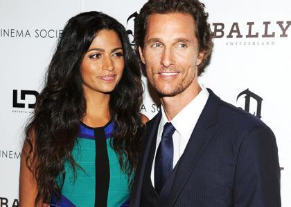 Matthew McConaughey we...