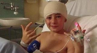 Ο πιτσιρικάς που… νίκησε τον καρκίνο: Του είπαν πως έχει 18 μήνες ζωής και 5 χρόνια μετά αναμένεται να «καθαρίσει»