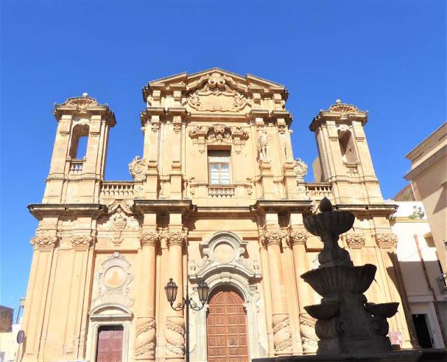 facciata chiesa del purgatorio