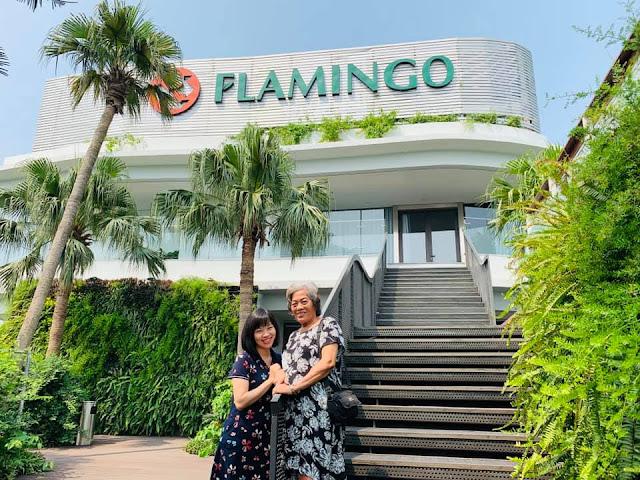 nghỉ dưỡng cùng mẹ tại Flamingo Đại Lải