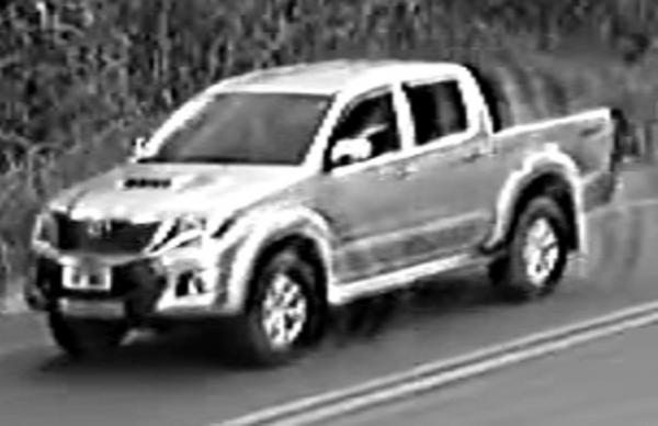 A PCDF divulga imagem de um veículo que é o suspeito de ter atropelar a criança