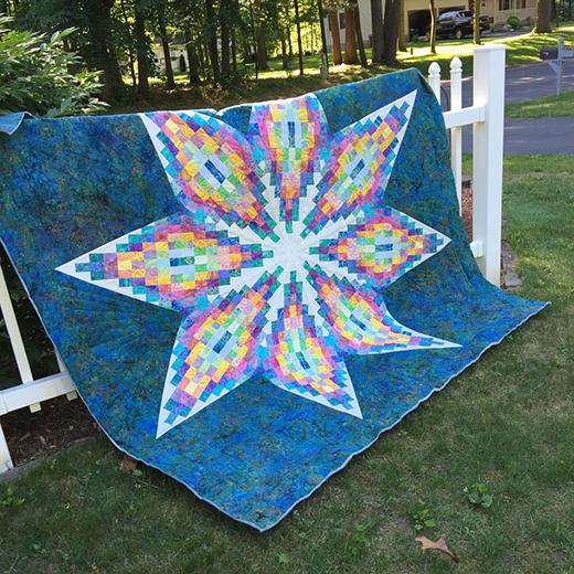 Madison's Star Quilt FreePattern