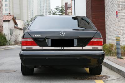 Eksterior Mercy W140 Facelift Tampak Belakang
