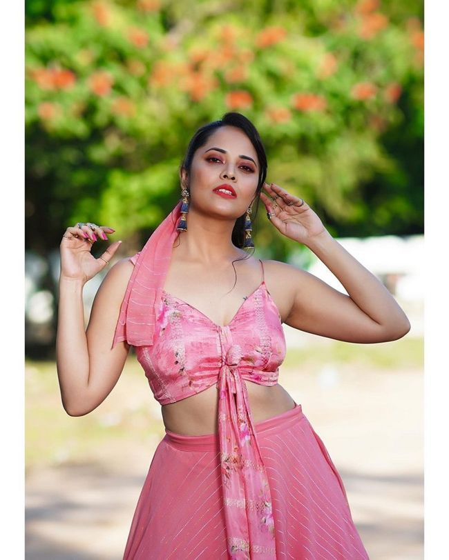 Actors Gallery: Anasuya Bharadwaj Looks Elegant Pictures