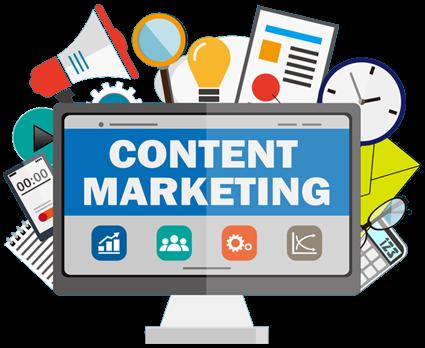 विषयवस्तु का व्यापार (Content marketing)
