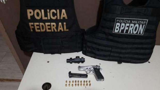 Menor de idade é apreendido com arma e munições em Foz do Iguaçu
