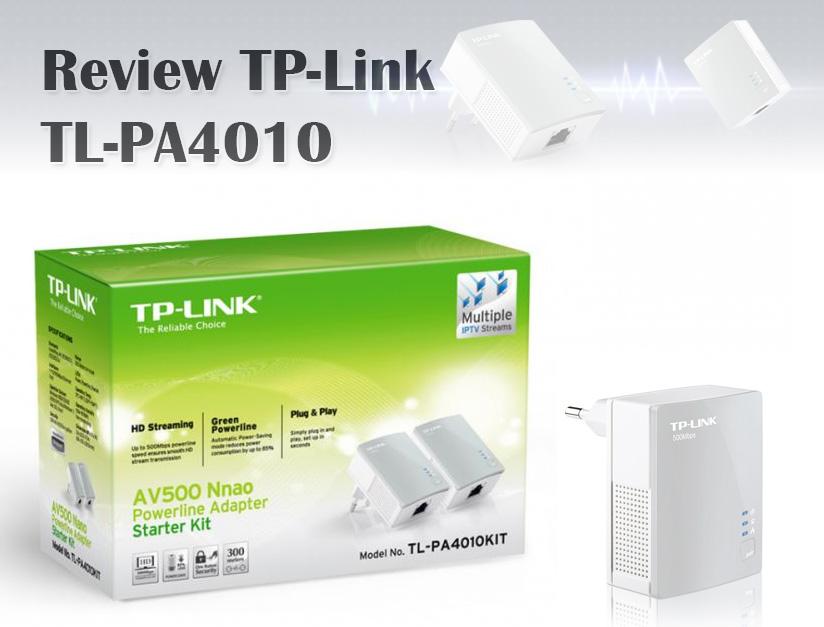 Review: TP-Link TL-PA4010 Nano, un PLC de ultrabajo consumo