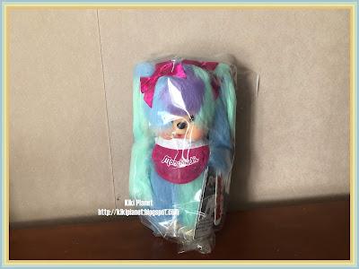 kiki monchhichi, am I monchhichi, référence 233991 japan expo toys vintage
