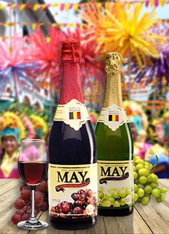 May Sparkling Juice