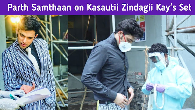Accident : Prerna meets an accident at construction site Anurag confess love in Kasauti