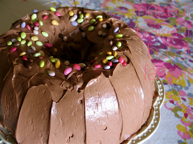 Joy's Chocolate Bundt Cake