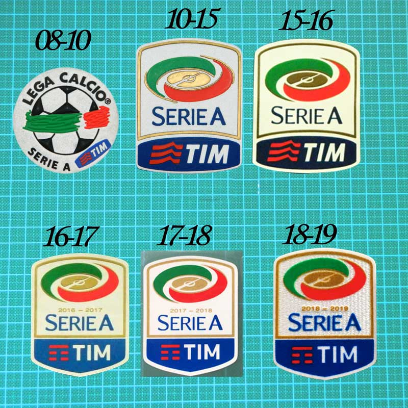 All New Logo From 2019 20 Full Serie A Logo History Footy Headlines