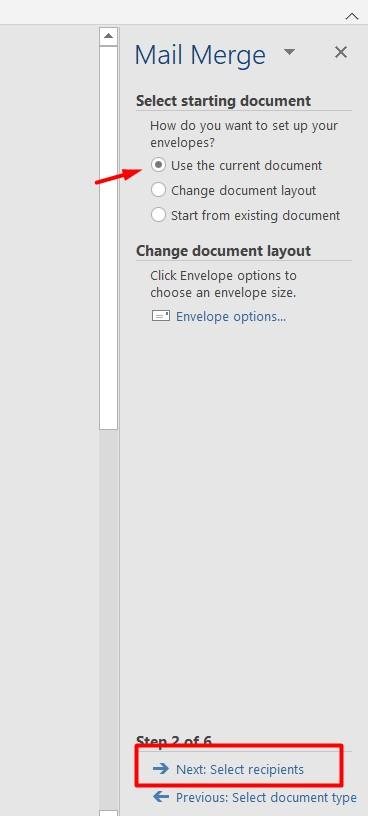 Cara Membuat Mail Merge di Word 2010 Menggunakan List Data