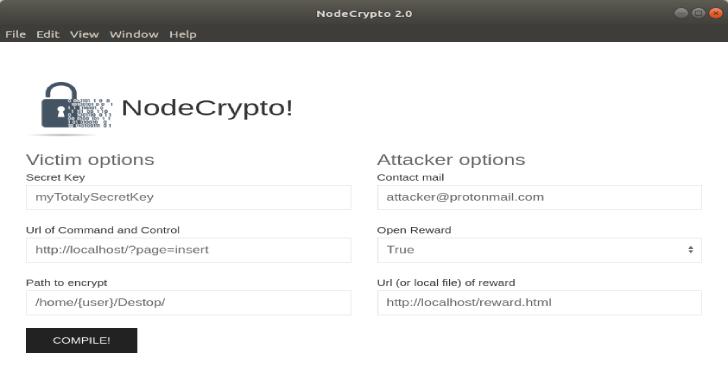 NodeCrypto : Linux Ransomware Written In NodeJs