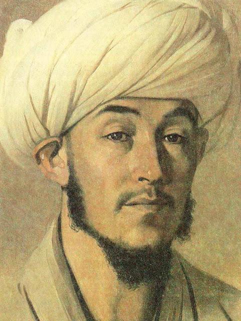 Василий Васильевич Верещагин - Портрет мужчины в белом тюрбане. 1867