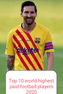 Messi, Top 10, highest paid, earnings, footballers, world, Forbes list,  2020.