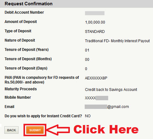 how to open fd account in icici online