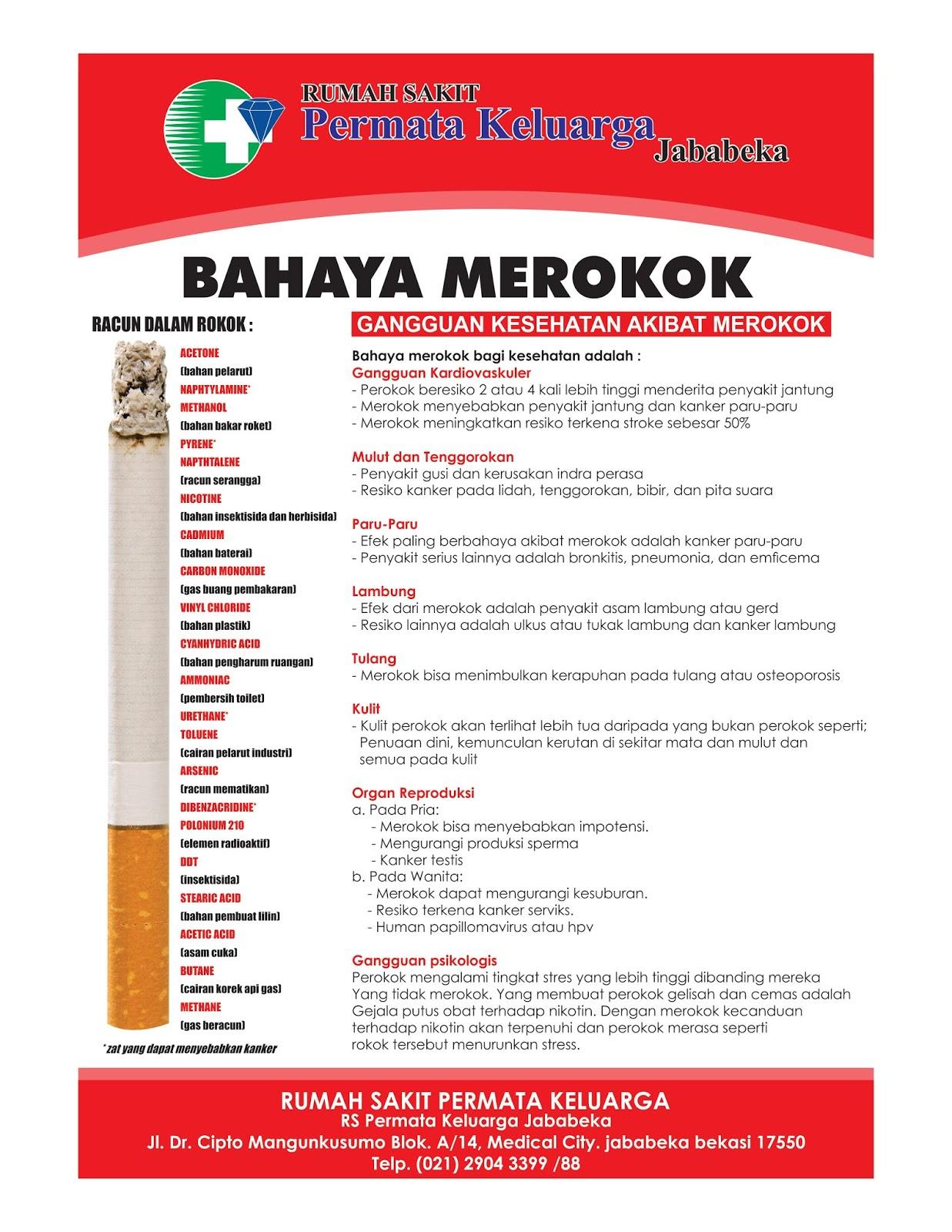 Poster Bahaya Merokok Agen87