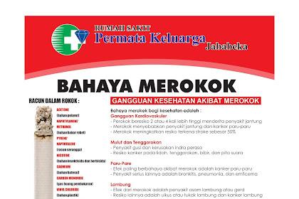 Poster Bahaya Merokok